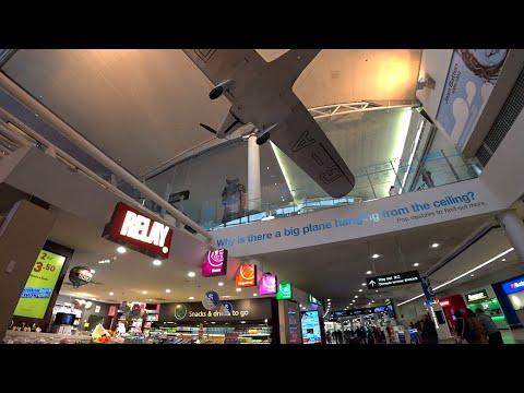 AUCKLAND INTERNATIONAL AIRPORT Walking Tour | 🇳🇿