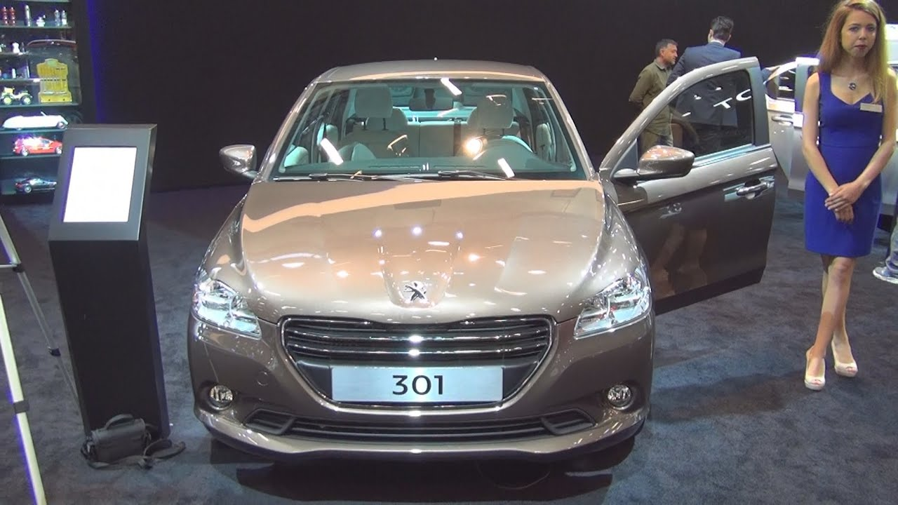 peugeot 301 allure 1.6 hdi 92 hp (2015) exterior and interior in