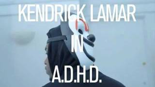 Kendrick Lamar - A.D.H.D [Section .80] Instrumental With Hook (Prod. By Frost)