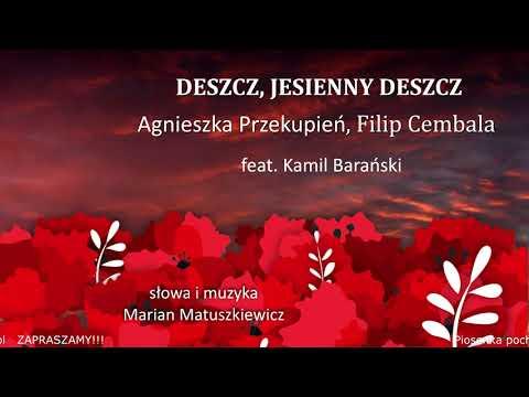 """inne – Deszcz, jesienny deszcz – Agnieszka Przekupień i Filip Cembala. Album: """"Uwięziony ptak nie śpiewa""""; fortepian: Kamil Barański. 2020-2021"""