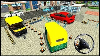 Parking 3D  City Auto Rickshaw #androidgame Driving Simulator