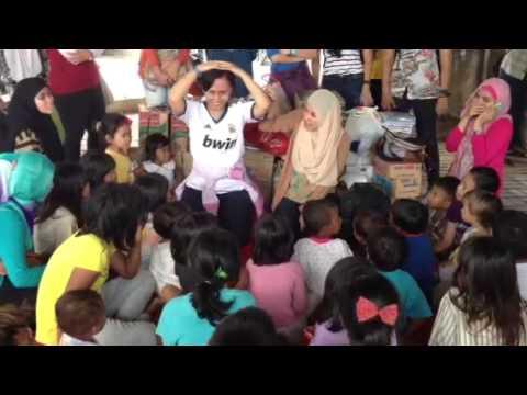 Trauma Healing untuk korban banjir Kp. Melayu Januari