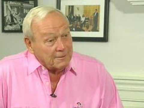 Golf Legend Arnold Palmer Opens Up