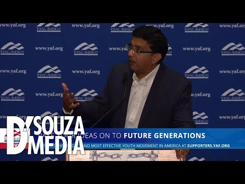 WOW! D'Souza gives unexpected response to question about civility in politics