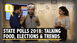 Explaining the 2018 Assembly Election Trends, Foodie Style | The Quint
