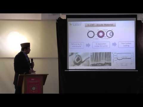 High Energy Density Batteries - Dr Muhammad Ahmad Pannu. AMRA 2016