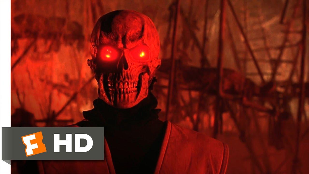 Mortal Kombat 1995 Scorpion Vs Johnny Cage Scene 6 10