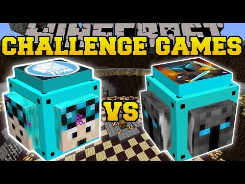Thumbnail: Minecraft: DANTDM VS POPULARMMOS CHALLENGE GAMES - Lucky Block Mod - Modded Mini-Game
