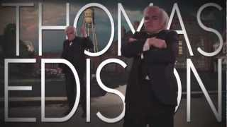 (Clean) Nikola Tesla vs Thomas Edison: Epic Rap Battles of History Season 2