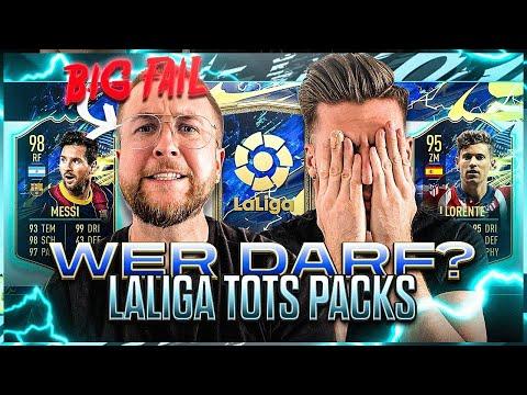 Wer darf KEINE PACKS zum LA LIGA TOTS ZIEHEN .. ☠️😱VERZWEIFLUNG im BLIND DRAFT !! FIFA 21
