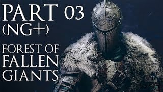 Dark Souls 2 (NG+) 100% Forest of Fallen Giants Walkthrough (All Secrets & Items) No Commentary