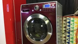 엘지 트롬 10kg 드럼세탁기 작동영상(세탁)LG TR…