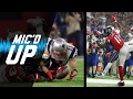 Mic d Up Julian Edelman Julio Jones Amazing Catches In Super Bowl LI NFL Films Sound FX