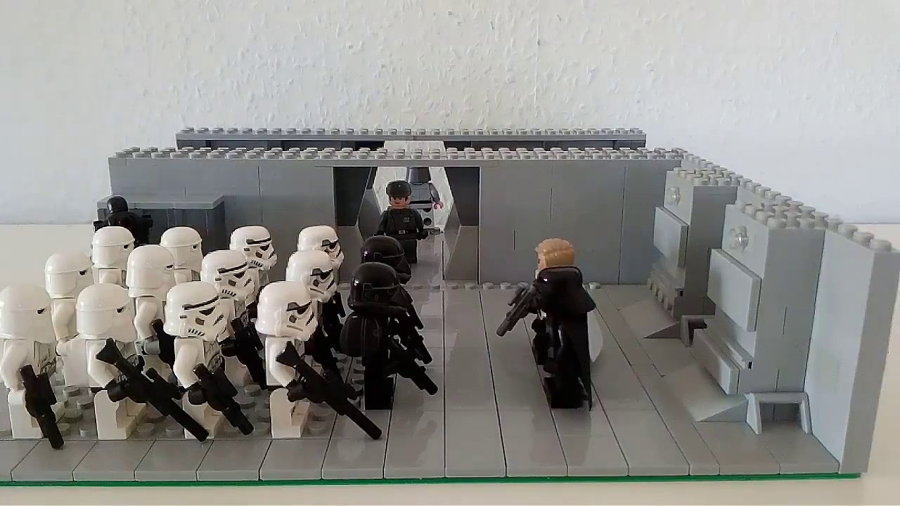 lego starwars roge one moc auf dem todesstern youtube. Black Bedroom Furniture Sets. Home Design Ideas