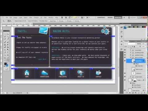 Taking Image Slicing from Photoshop to Dreamweaver ...