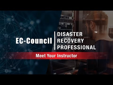 EC-Council Disaster Recovery Professional (EDRP) - Meet Your Instructor