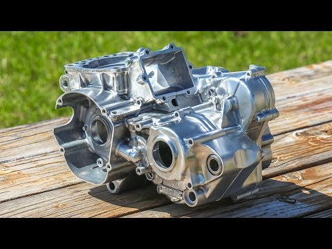 Tricks To Cleaning Dirt Bike Engine Cases