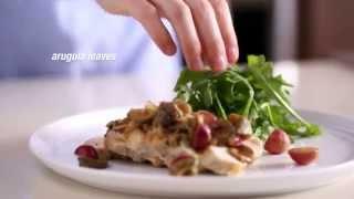 Mediterranean Chicken Saute With Warm Mushroom Salad