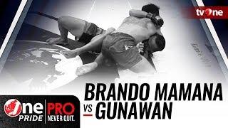 Video [HD] Brando Mamana vs Gunawan - One Pride MMA - Strawweight Title Fight download MP3, 3GP, MP4, WEBM, AVI, FLV September 2018