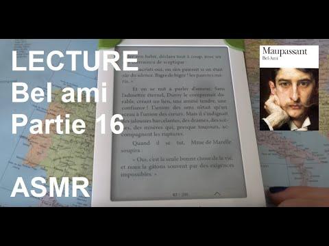 ASMR français - Lecture Bel ami partie 16.