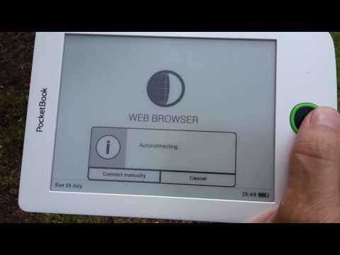 A look at the Pocketbook Basic 2 (614) e-reader.