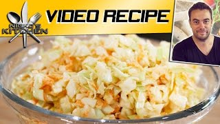 HOW TO MAKE KFC COLESLAW - VIDEO RECIPE