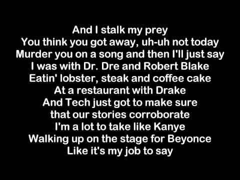 Eminem FT Tech N9ne ft  Krizz Kaliko - Speedom WWC2 HQ & Lyrics NEW 2015