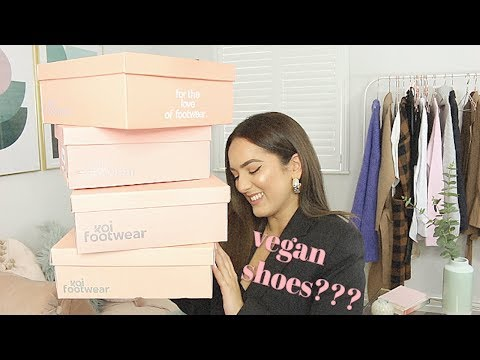 TRYING OUT A VEGAN SHOES BRAND???!!! AD
