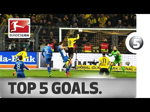 Top 5 Goals - Lewandowski, Ramos and More with Incredible Strikes