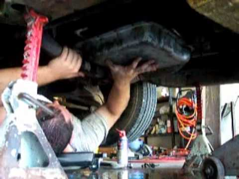 Duramax Fuel Filter Housing Transmission Filter Change Youtube