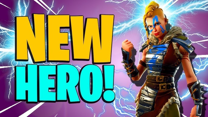 First Shot Rio Fortnite Save The World Amazing New Hero First Shot Rio Road Trip Event Soldier Fortnite Save The World Pve Youtube