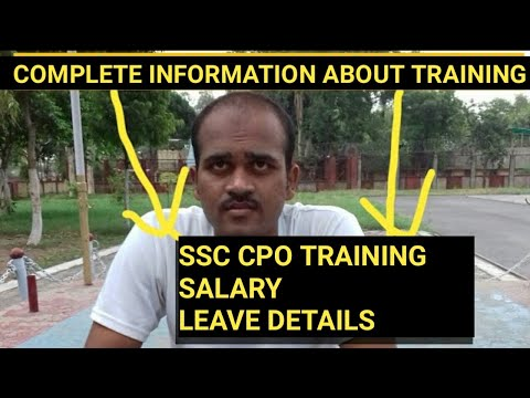 SSC CPO SI'S &ASI in CISF|| SALARY,TRINING,DUTIES,selection process|complete information about leave