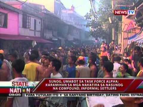 SONA: Sunog sa Damayan, Quezon City, umabot sa Task Force Alpha