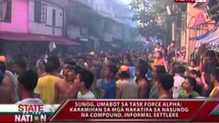 SONA Sunog sa Damayan Quezon City umabot sa Task Force Alpha