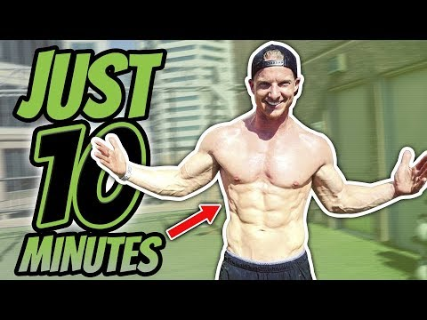 10 Minute BYE BYE BELLY FAT HIIT Bodyweight Workout