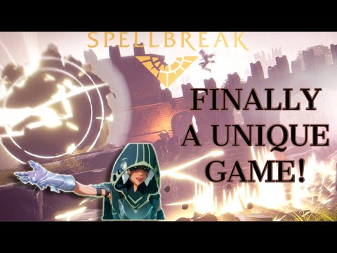 Spellbreak Battle Royale: Difference From Fortnite or Apex Legends? Mobility & Combinations!!