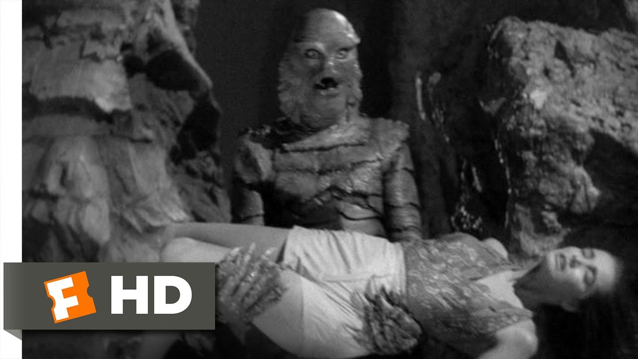 Creature from the Black Lagoon (9/10) Movie CLIP - Into ...