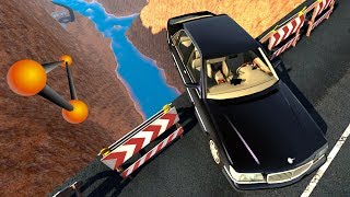 МОСТ СМЕРТИ! ЗДЕСЬ ОБРЫВАЮТСЯ ЖИЗНИ | BeamNG.drive