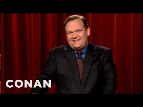 Andy Richter's Advice For Angus T. Jones - CONAN on TBS