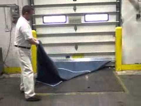 Attrayant Dockleveler Insulation Blanket   YouTube