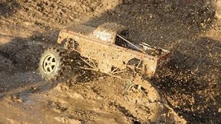 RC Mud Truck Racing - Demo Event