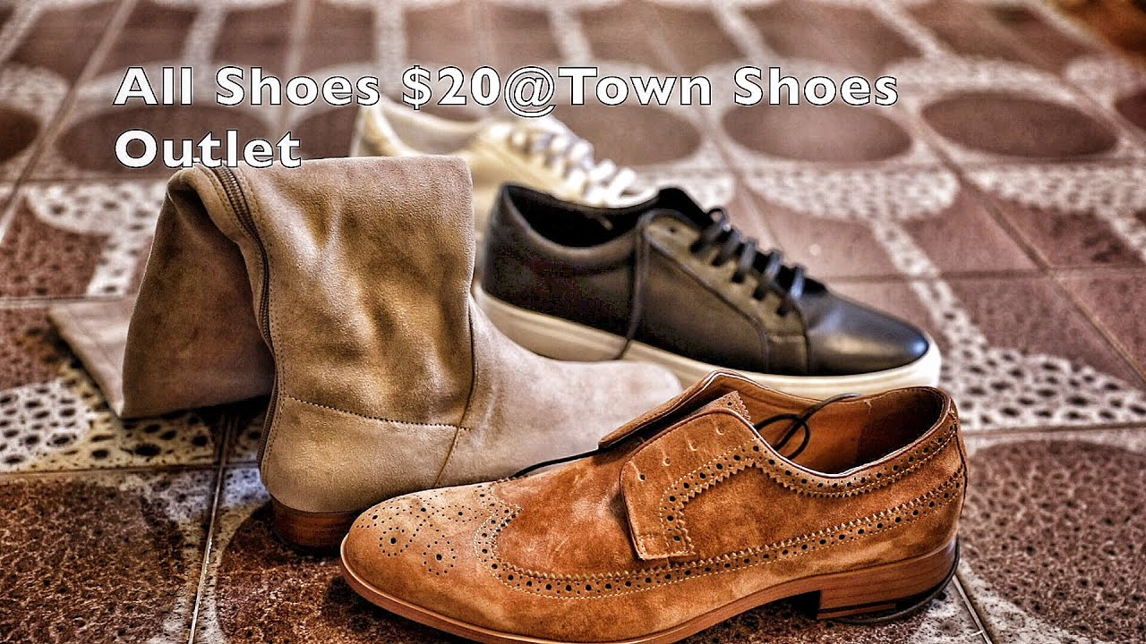 $20 Shoes at all Town Shoes Outlet Locations Apparently!