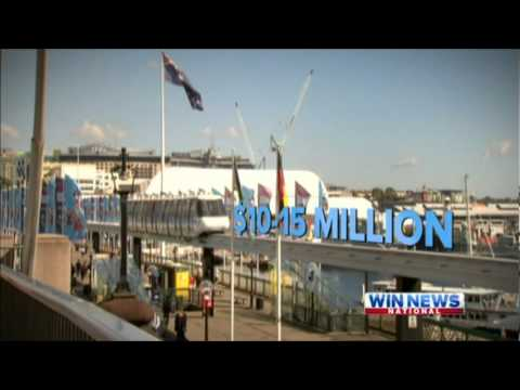 Nine News Sydney - Sydney Monorail to be torn down (23/3/2012)
