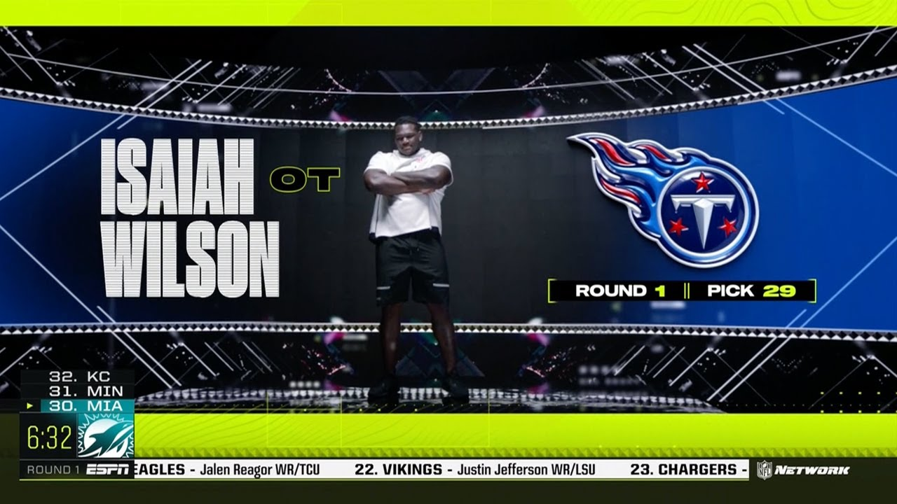 Titans first-round OT Isaiah Wilson says he's 'done' in Tennessee in ...