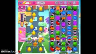 Candy Crush Level 1437 help w/audio tips, hints, tricks