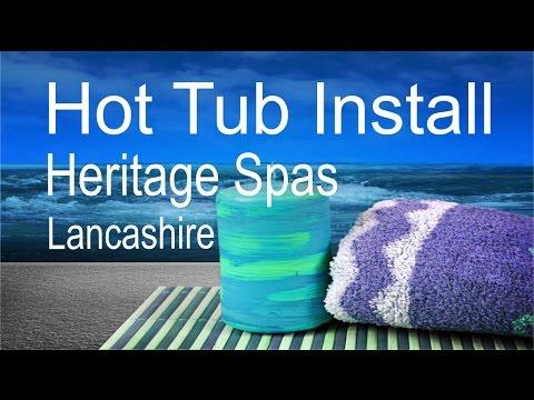 Hot Tub Installation Marquis Vector V94 Youtube