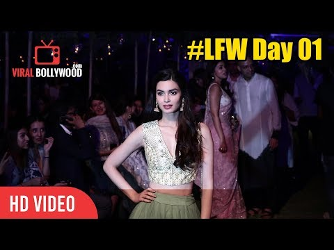 Diana Penty At Lakme Fashion Week 2018