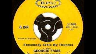 Georgie Fame - Somebody Stole My Thunder