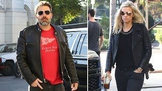 Ben Affleck Supported At Rehab With Girlfriend Lindsay Shookus By His Side