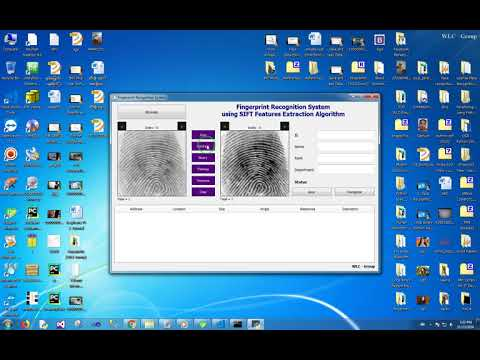 Fingerprint Recognition System using SIFT Features Extraction Algorithm